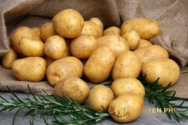Khoai tây cung cấp vitamin làm trắng da hiệu quả