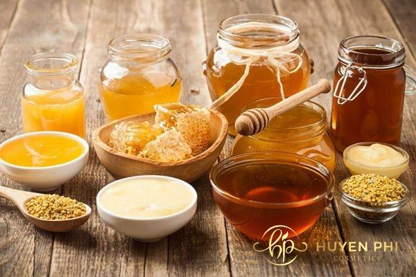 kết hợp cùng mật ong