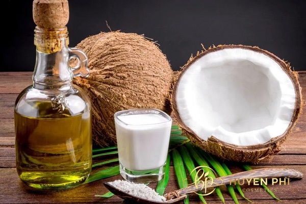 dưỡng da body bằng dầu dừa