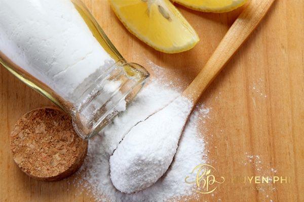 Chanh và baking soda có khả năng sát khuẩn tối ưu