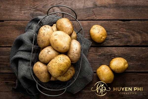 Sử dụng khoai tây để giảm tình trạng da bị cháy nắng hiệu quả