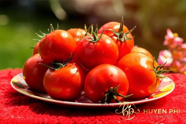 Cà chua giàu khoáng chất có lợi cho da