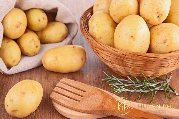 Khoai tây có chứa các thành phần ức chế sự phát triển của nang lông