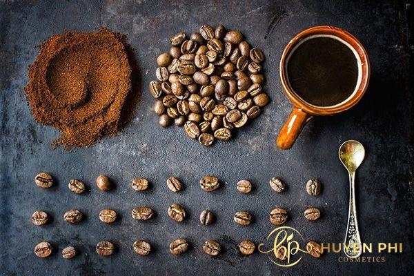 Bã cafe có thể sử dụng để tẩy lông nách an toàn
