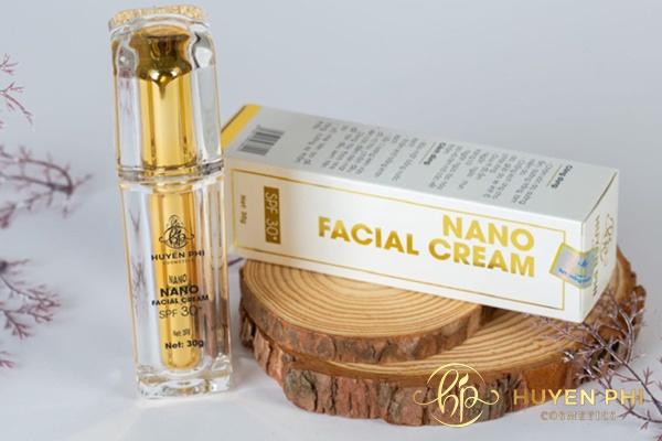 Kem Face Nano Huyền Phi là dòng kem chăm sóc da hoàn hảo