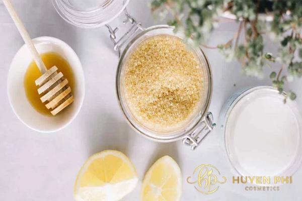 Mật ong, chanh và đường giúp mẹ bầu triệt lông nách hiệu quả