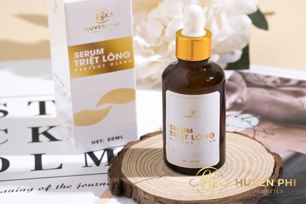 Kem tẩy lông Huyền Phi có chứa các thành phần tự nhiên triệt lông hiệu quả