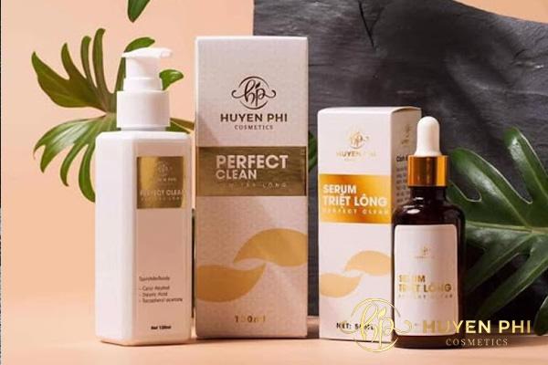 Kem tẩy lông Huyền Phi là sản phẩm của thương hiệu mỹ phẩm uy tín