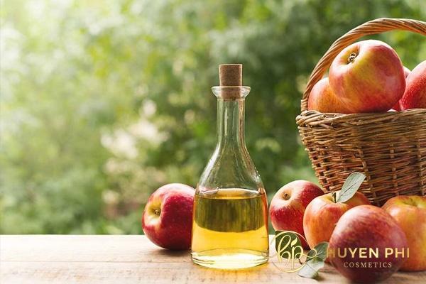 Giấm táo có nhiều dưỡng chất tăng sức mạnh của da trước những tác động từ thời tiết