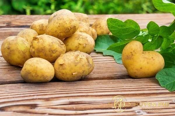 Dưỡng da bằng khoai tây giúp da luôn mịn màng