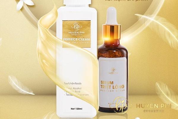 Perfect Clean có chứa các thành phần an toàn cho da