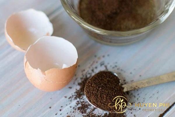 Cà phê- trứng gà là hỗn hợp làm trắng da hiệu quả