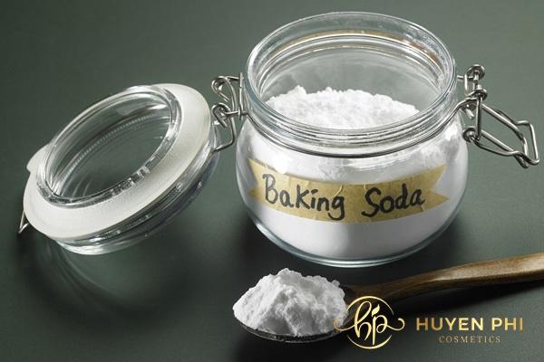 Baking soda tẩy lông nách nhanh chóng