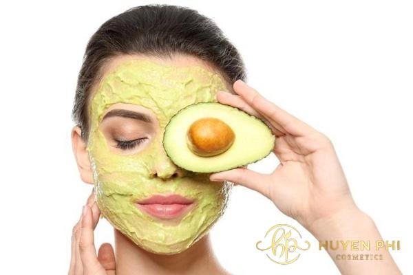 lưu ý khi đắp mặt nạ bơ