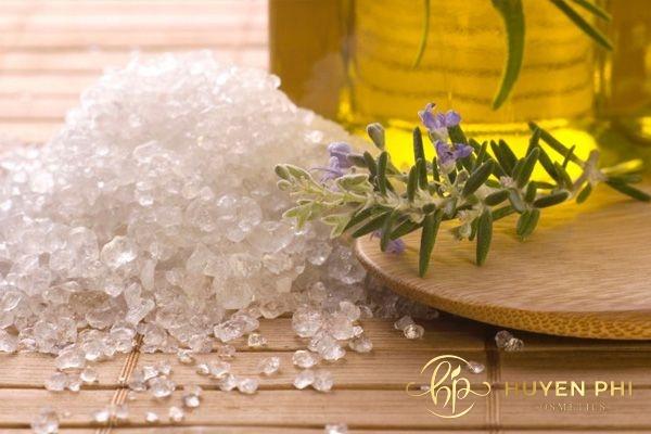 Dầu oliu và muối