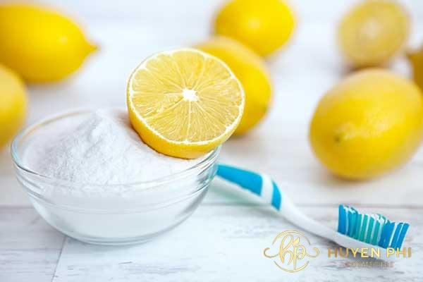 Chanh và kem đánh răng là công thức triệt lông hiệu quả