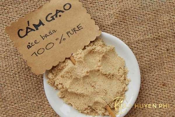 Vitamin B1 và cám gạo làm trắng da an toàn