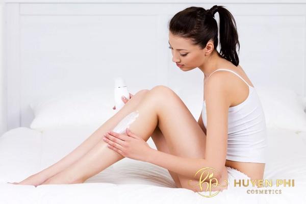 Sử dụng riêng kem dưỡng ẩm cho vùng da body