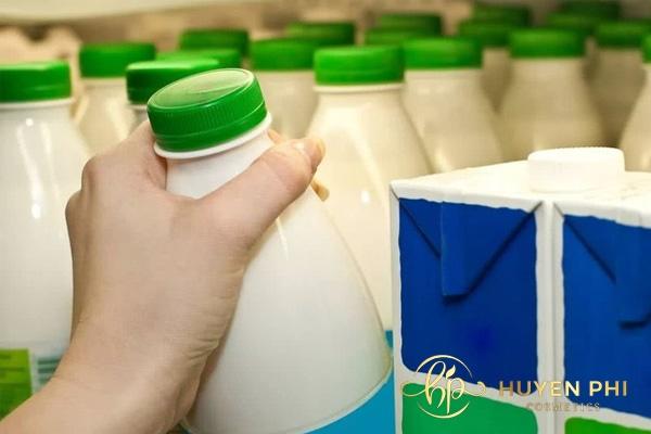 cách bảo quản sữa tươi không đường để rửa mặt