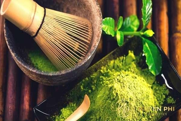 Trà xanh là nguyên liệu chống nắng tự nhiên hiệu quả