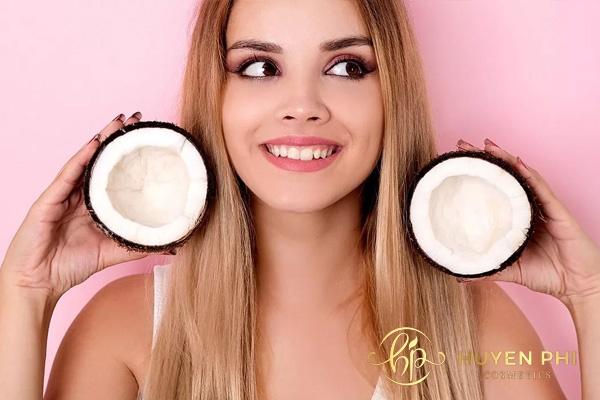 cách sử dụng dầu dừa cho da mặt nhờn
