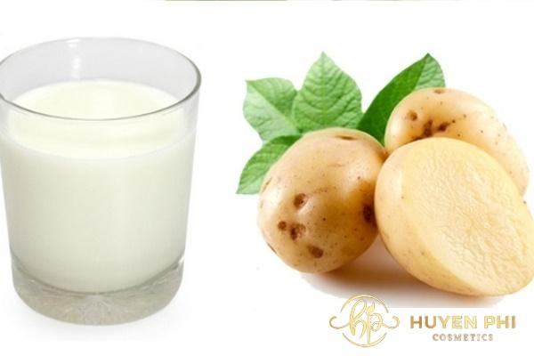 Đắp mặt nạ khoai tây sữa tươi hàng ngày thế nào? Có tác dụng gì - Ảnh 4