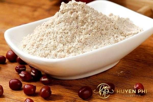Hoạt chất có trong bột đậu đỏ giúp da trắng hồng rạng rỡ
