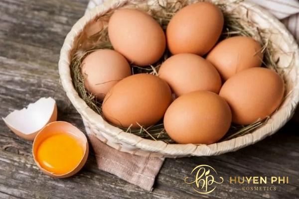 kinh nghiệm đắp mặt nạ trứng gà