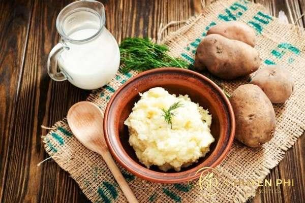 mặt nạ khoai tây sữa tươi có tác dụng gì