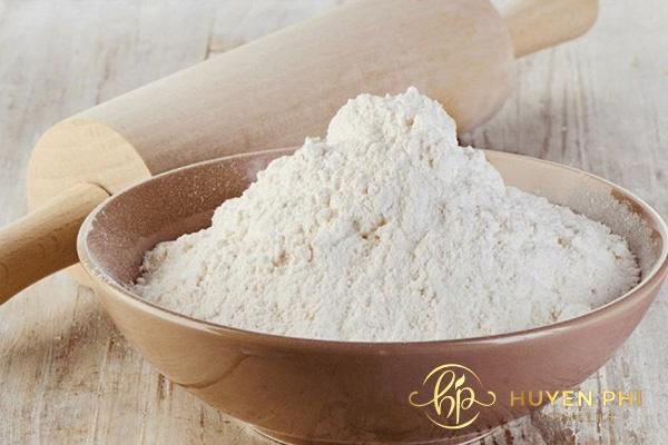 Kiên trì thực hiện tẩy lông với bột mì để làm sạch lông