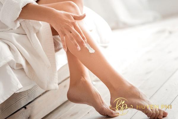 Thoa kem body có thể gây mẩn ngứa trên da