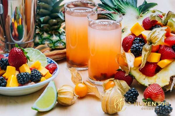 Nước ép hoa quả bổ sung vitamin cho cơ thể