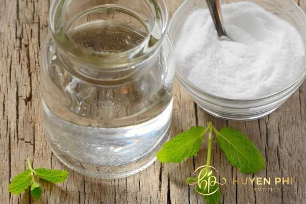 Kết hợp baking soda cùng dầu dừa để tăng hiệu quả dưỡng da trắng mịn