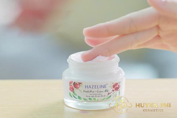 công thức làm kem trộn với Hazeline