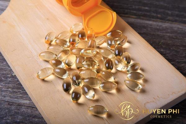 Sử dụng vitamin E