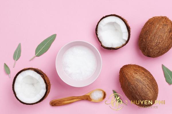 kinh nghiệm thu nhỏ lỗ chân lông với dầu dừa