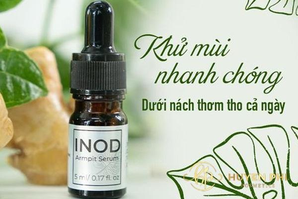 Serum INOD là sản phẩm khử mùi an toàn và lành tính cho da