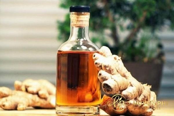 Tinh chất trong rượu gừng có thể khử mùi hôi cơ thể hiệu quả