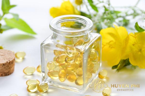 viên uống vitamin e có bôi mặt được không