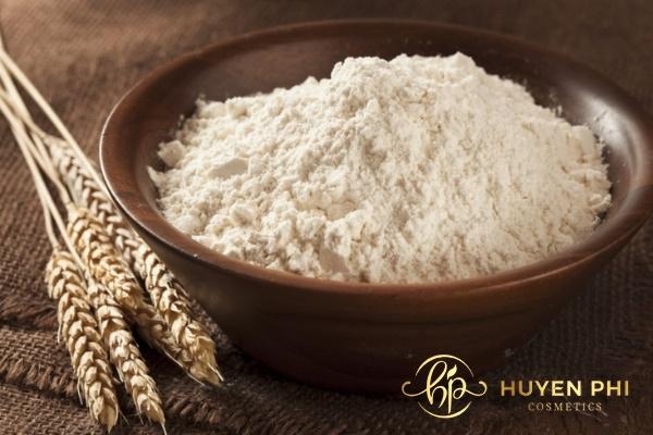 Bột yến mạch là nguyên liệu ủ trắng da hiệu quả
