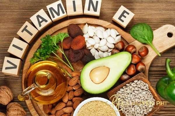 Thực phẩm chứa vitamin A, E, rất tốt cho da