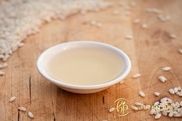 rửa mặt bằng nước vo gạo có tác dụng gì